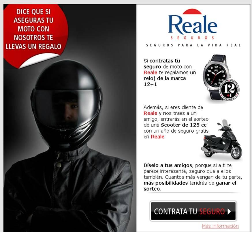 Promoci n seguro de motos de reale seguros el blog de los seguros - Reale seguros oficinas ...