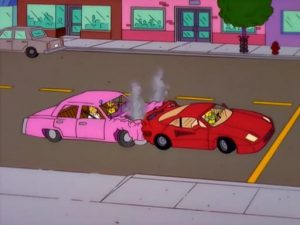faltas por accidentes de tráfico